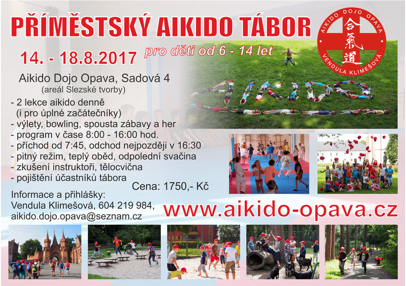 letni primestsky tabor pro deti 2017