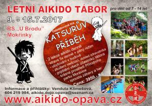 Letní aikido tábor 2017